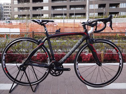 pinarello quattro carbonred side