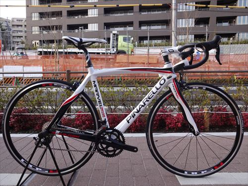 pinarello marvel whitered side