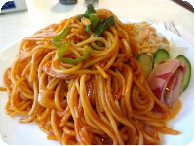 スパゲティ(ナポリタン)セット