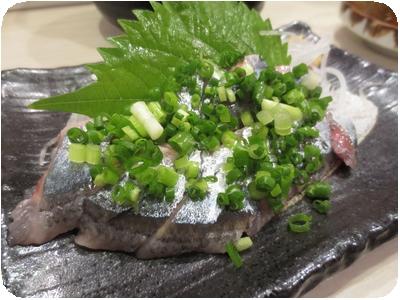 新秋刀魚刺し