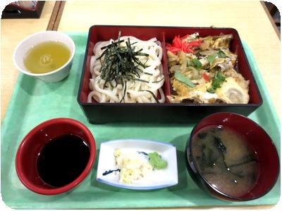 深川丼&ザルうどん
