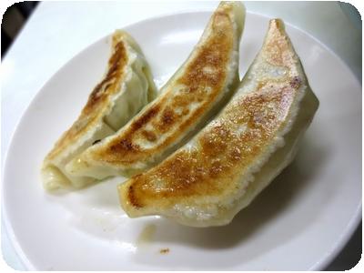 タンメン+餃子3個セット