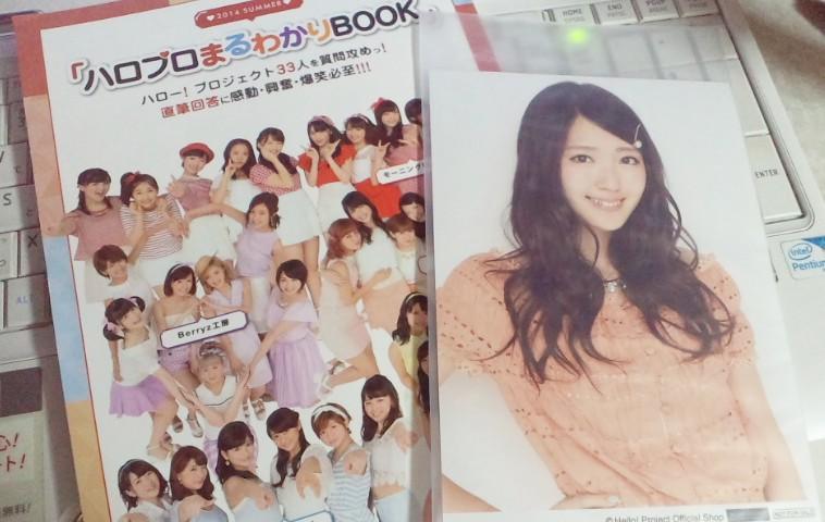 まるわかりBOOK2014と特典2L生写真