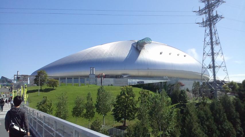 札幌ドームはでっかいどう!