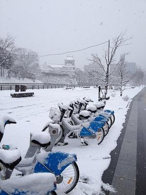 シクロ除雪1