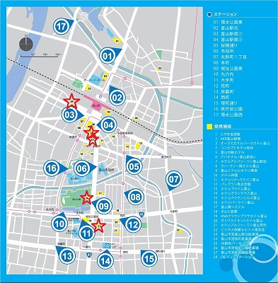 stationmap提携駐車場