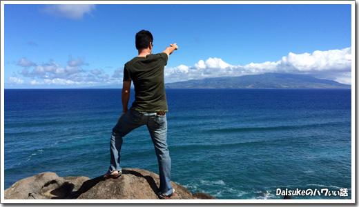 モロカイ島のDaisuke