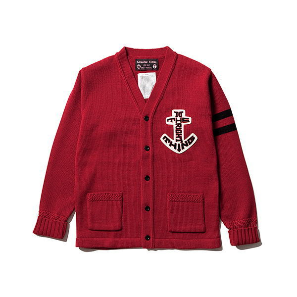 SOFTMACHINE ANCHOR SIGN CARDIGAN