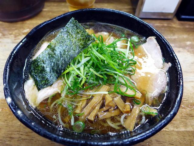 豊中 麺哲@04薄切り肉醤油 1