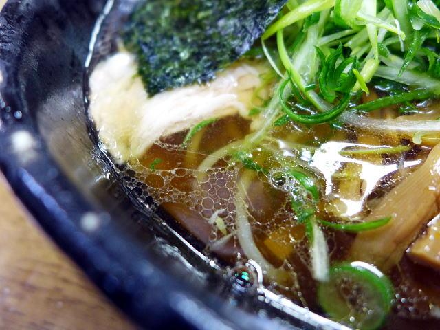 豊中 麺哲@04薄切り肉醤油 2