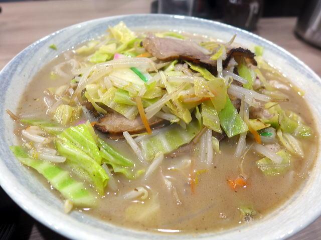 チャンポン 一平@02チャンポン焼豚(野菜大) 1
