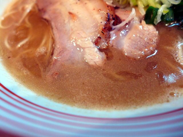 山麺@01濃い鶏醤油らーめん 2