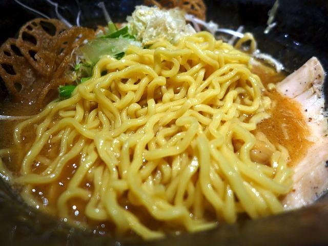 鶏 soba 座銀@02鶏と海老時々煮干しSoba 3