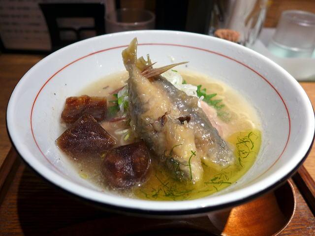 麺と心 7@02冷やし魚介白湯らーめん 1