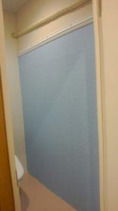 トイレ壁塗②