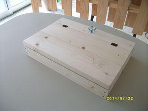 フタ付き木箱①