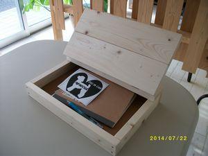 フタ付き木箱②