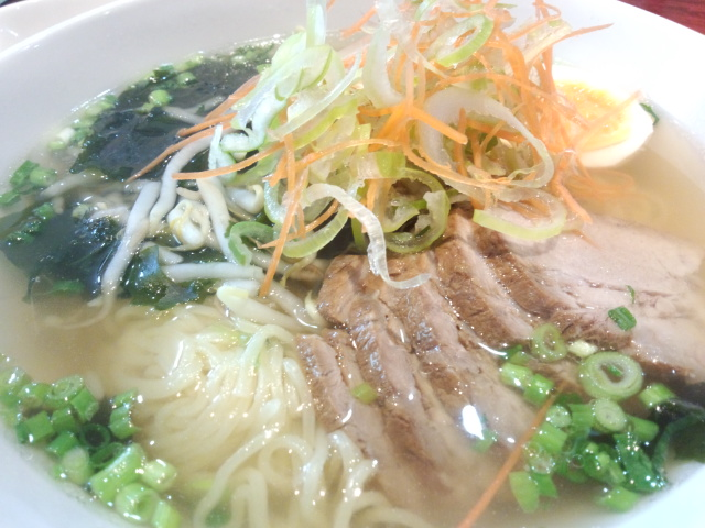 チャーシュー麺(青蓮)