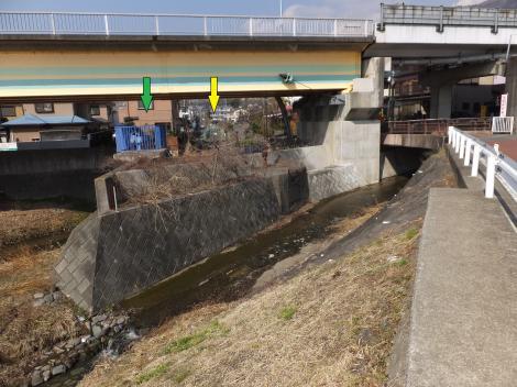 惣領樋門・酒匂川左岸幹線用水路
