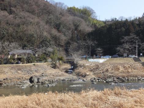 青山川河口