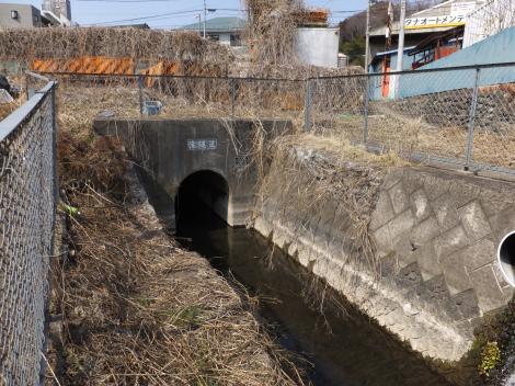 相模原幹線用水路(大堀)滝隧道出口