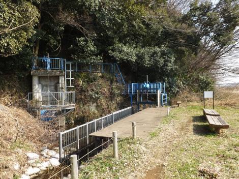 相模原幹線用水路(大堀)・上当麻隧道入口