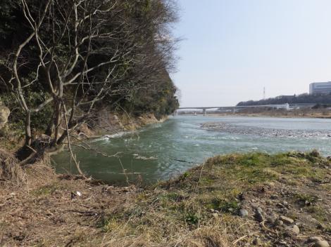 相模原幹線用水路(大堀)・相模川へ放流
