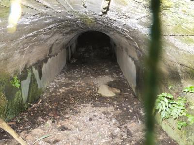 三ヶ木発電所導水路出口
