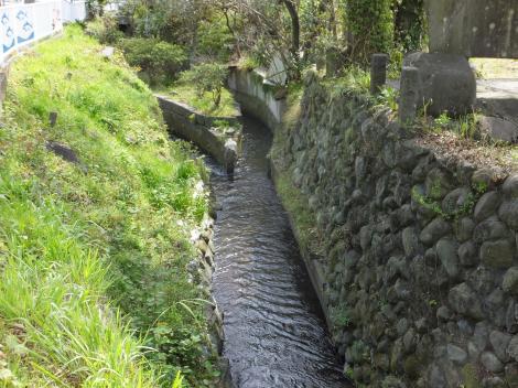 小田原用水・取水口付近