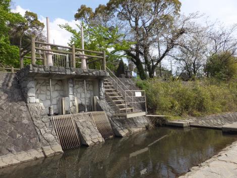 小田原用水取入口