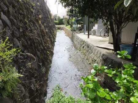 小田原用水・東海道線・箱根登山線西側