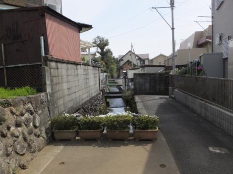 小田原用水・早川口遺構付近