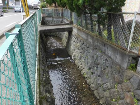 旧早川橋信号付近