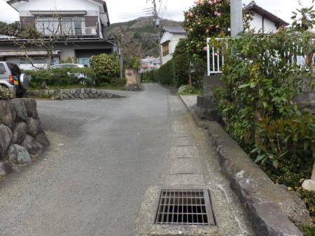 松田用水・取水源のひとつ河南沢