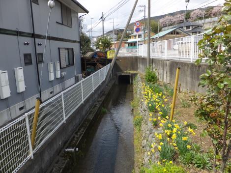 松田用水・松田警察署前