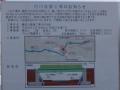 鶴見川河川改修工事案内看板