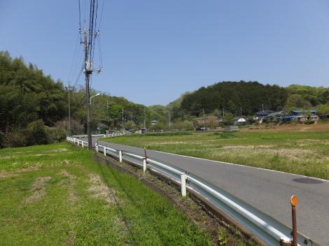 鶴見川源流の泉付近の風景