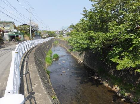 鶴見川・長慶禅寺付近