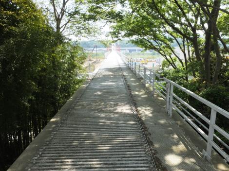 企業団・相模川水路橋北詰