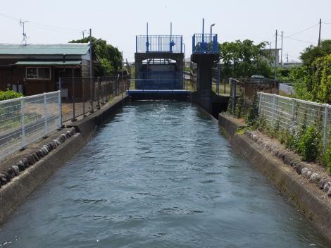 酒匂川左岸幹線用水路・川音川サイフォン