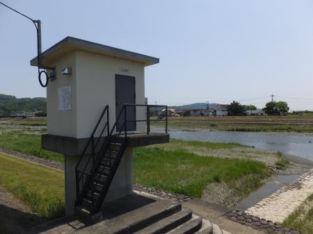 川音水位観測所