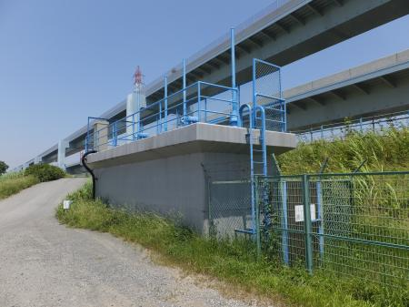 寒川取水施設・導水路