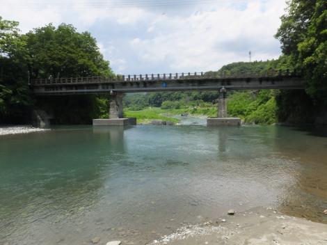 道志川・弁天橋