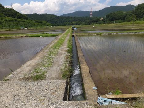 道志新田幹線用水路