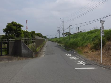 馬入川系統水道みち・寒川浄水場東