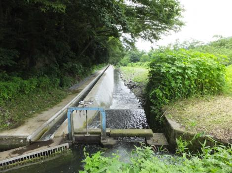 仙台下用水路終点