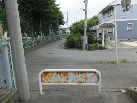 田名北小東側の野水路