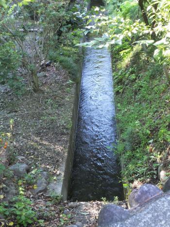 仙台下頭首工用水路