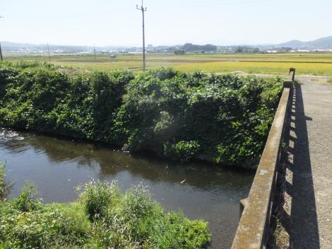 鈴川の古い橋平塚市岡崎