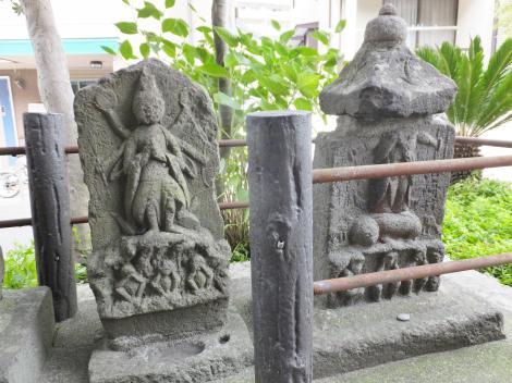 庚申塔・鎌倉市山崎